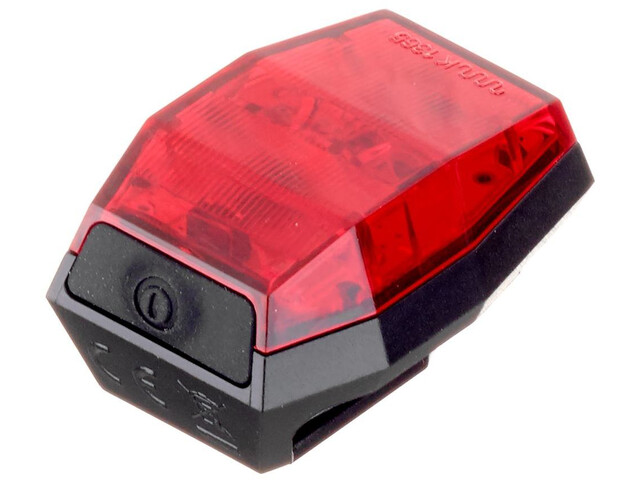 Croozer Lunixo Lynx R mini Rear Light black/red